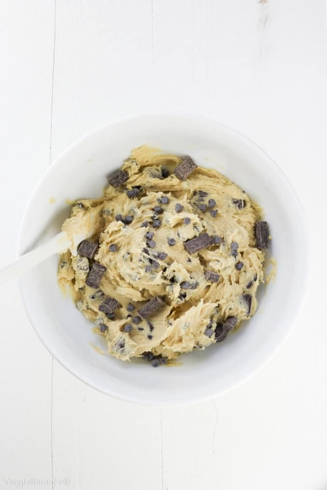 Edible Cookie Dough Recipe Healthy Gluten Free Dairy Free - Veggiebalance.com