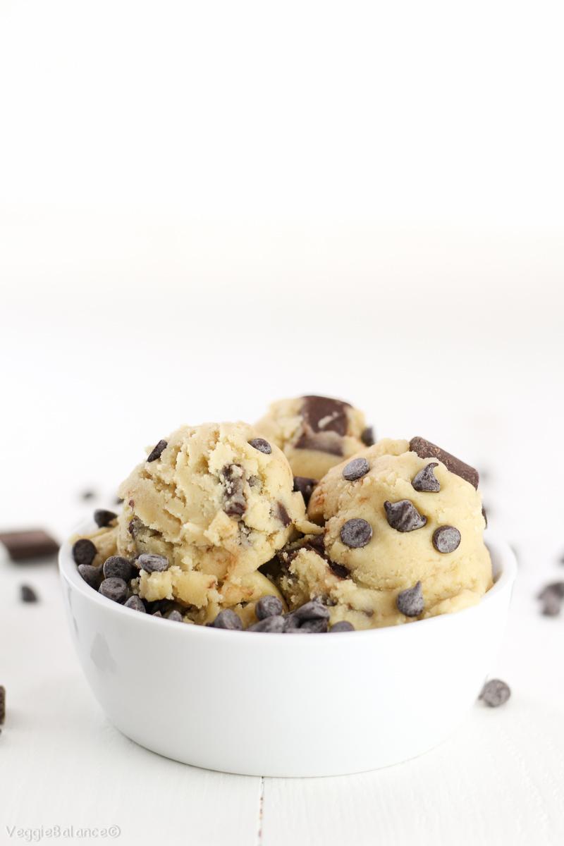 Edible Cookie Dough Recipe Healthy Gluten Free Dairy Free. This cookie dough recipe will rock your world.