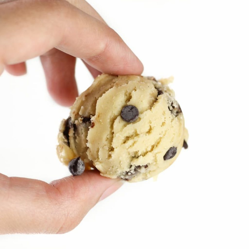 Edible Cookie Dough (Eggless, Gluten Free)