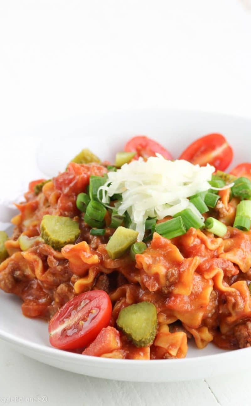 Easy Hamburger Casserole Recipe (Gluten Free)