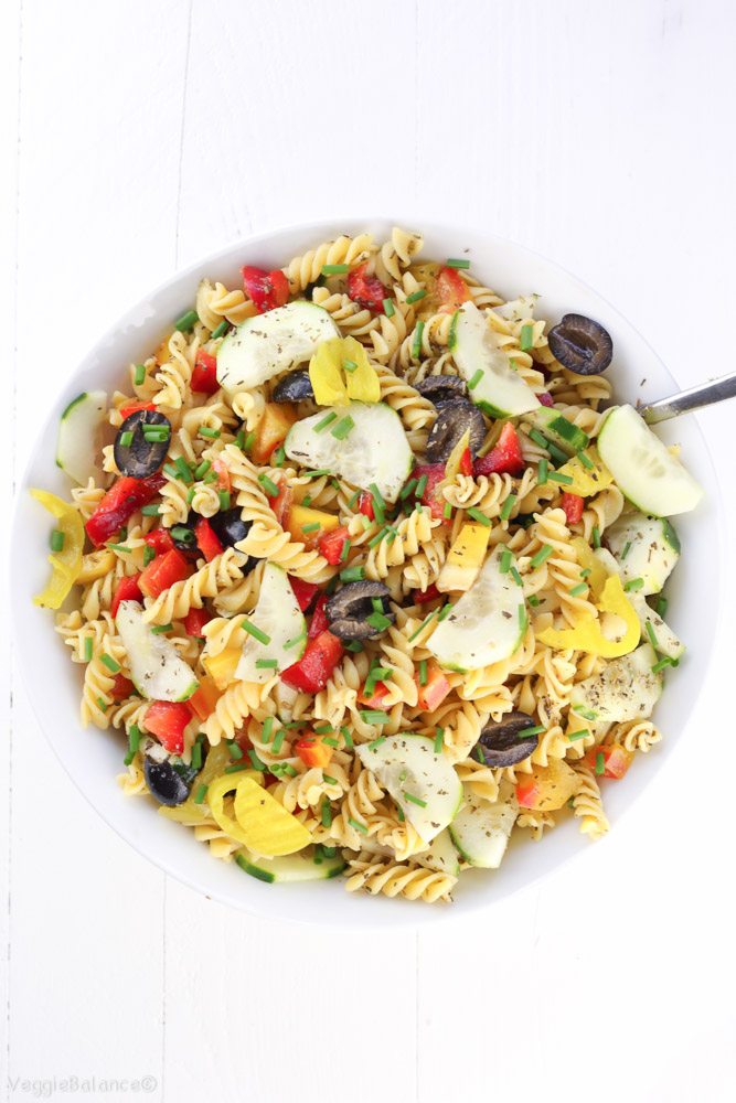how to cook healthy pasta salad
