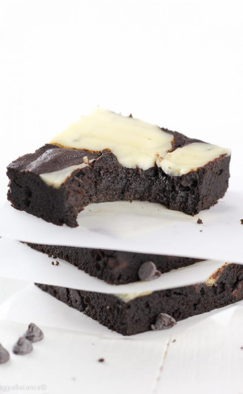 The Best Fudgy Brownies with Cream Cheese Swirl