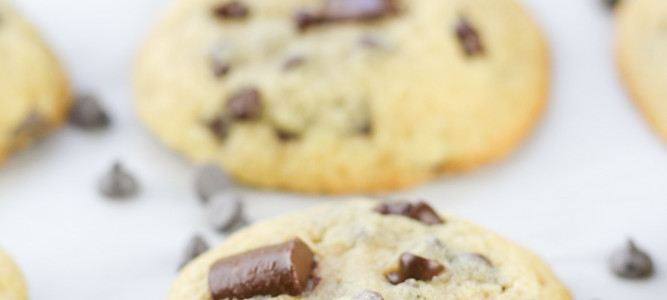 The Best Chocolate Chip Cookies from Scratch