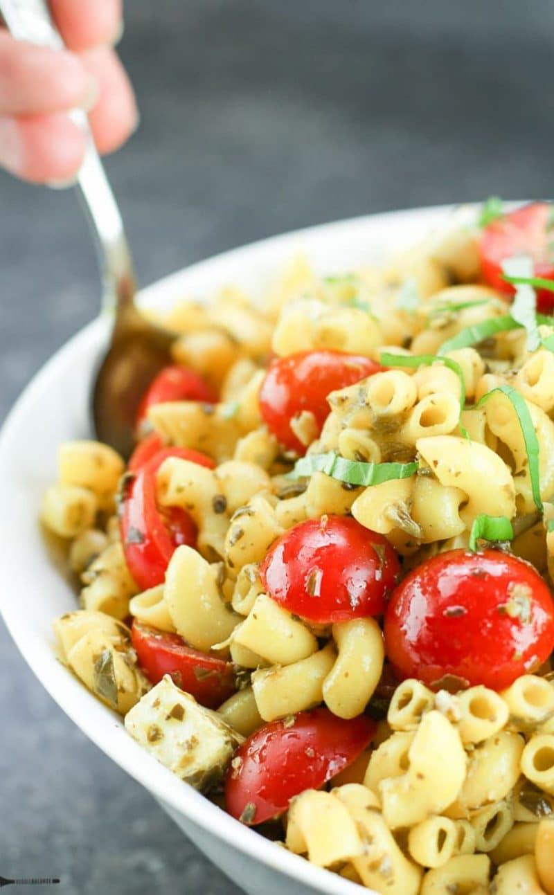 Caprese Gluten-Free Pasta Salad