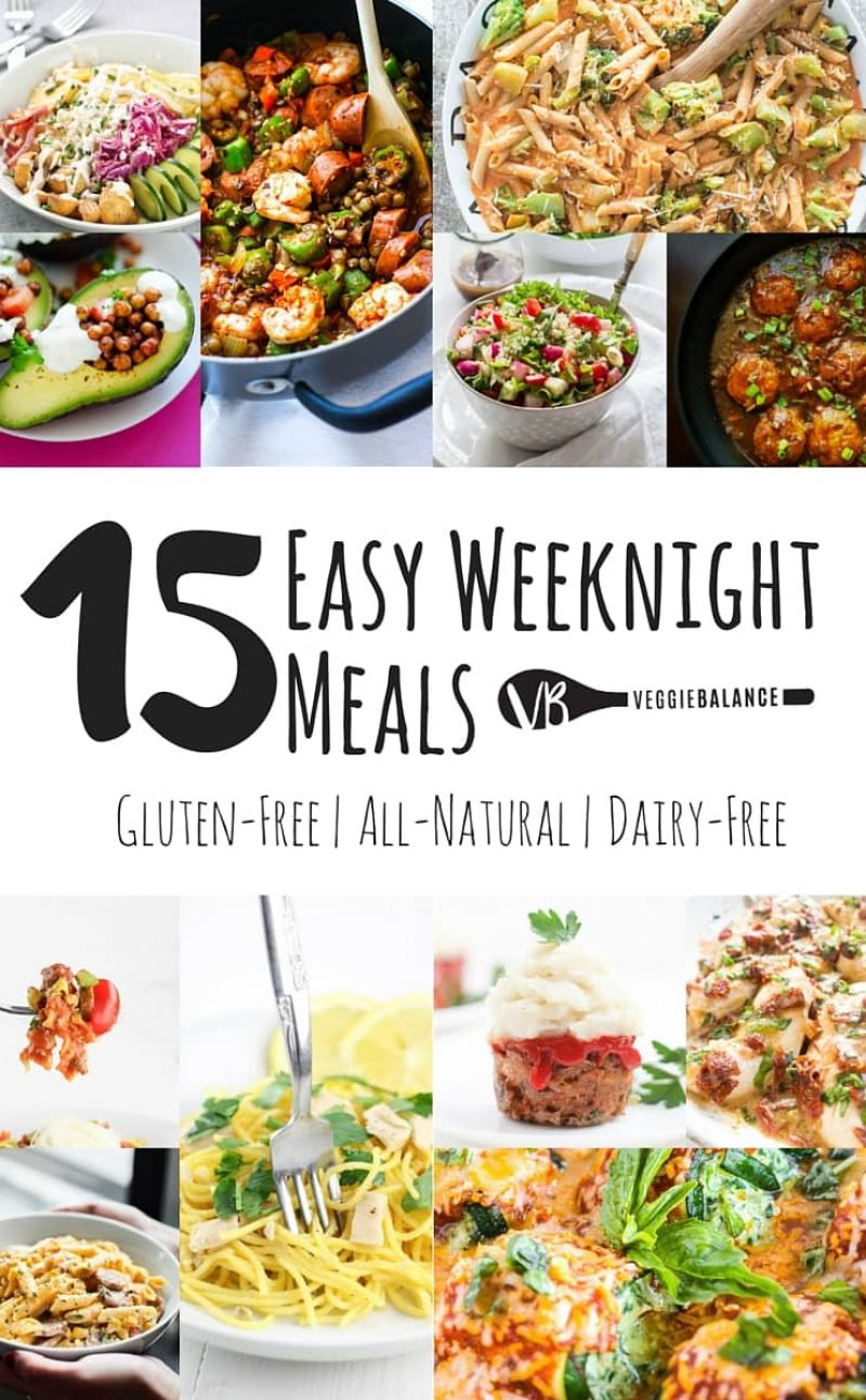 15 Easy Weeknight Meals All Gluten-Free