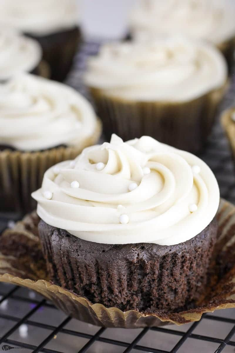 Gluten Free Chocolate Cupcakes Recipe Made Healthy Easy - Veggiebalance.com