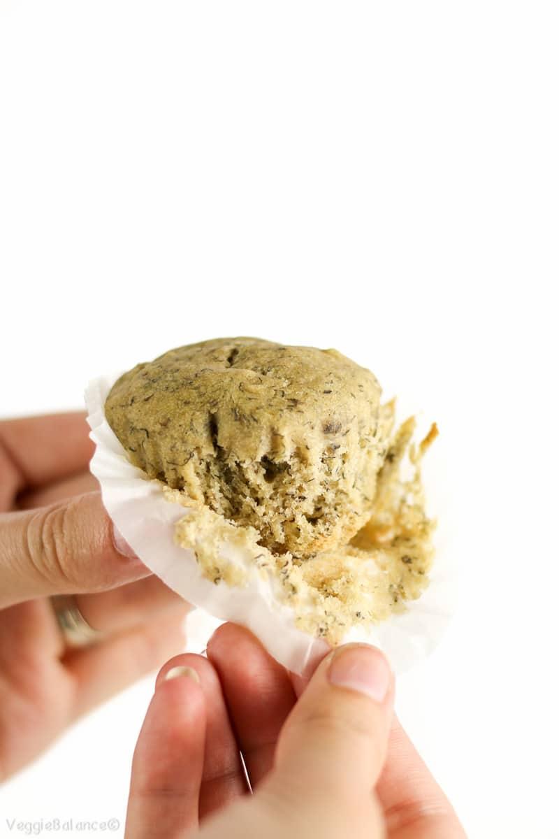 Gluten-Free Banana Muffins Recipe Low-Sugar - Veggiebalance.com