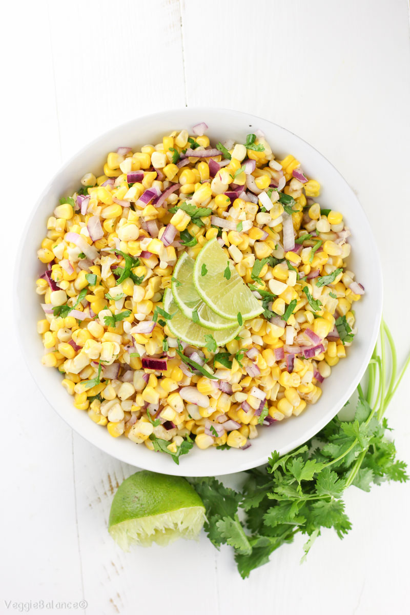 ve labeled this as a Summer Corn Salad, however, this simple salad ...