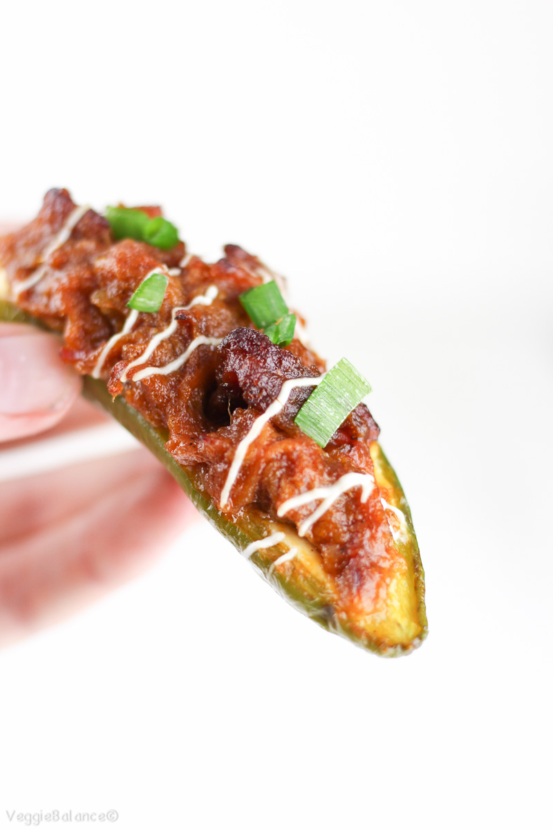 Stuffed Jalapenos with Pork Cream Cheese Baked-7