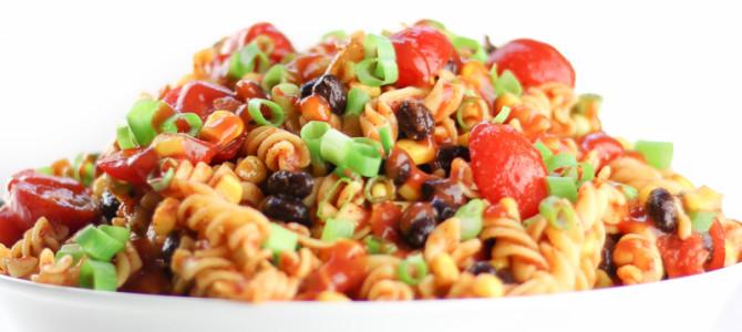 Taco Pasta Salad Made Healthy
