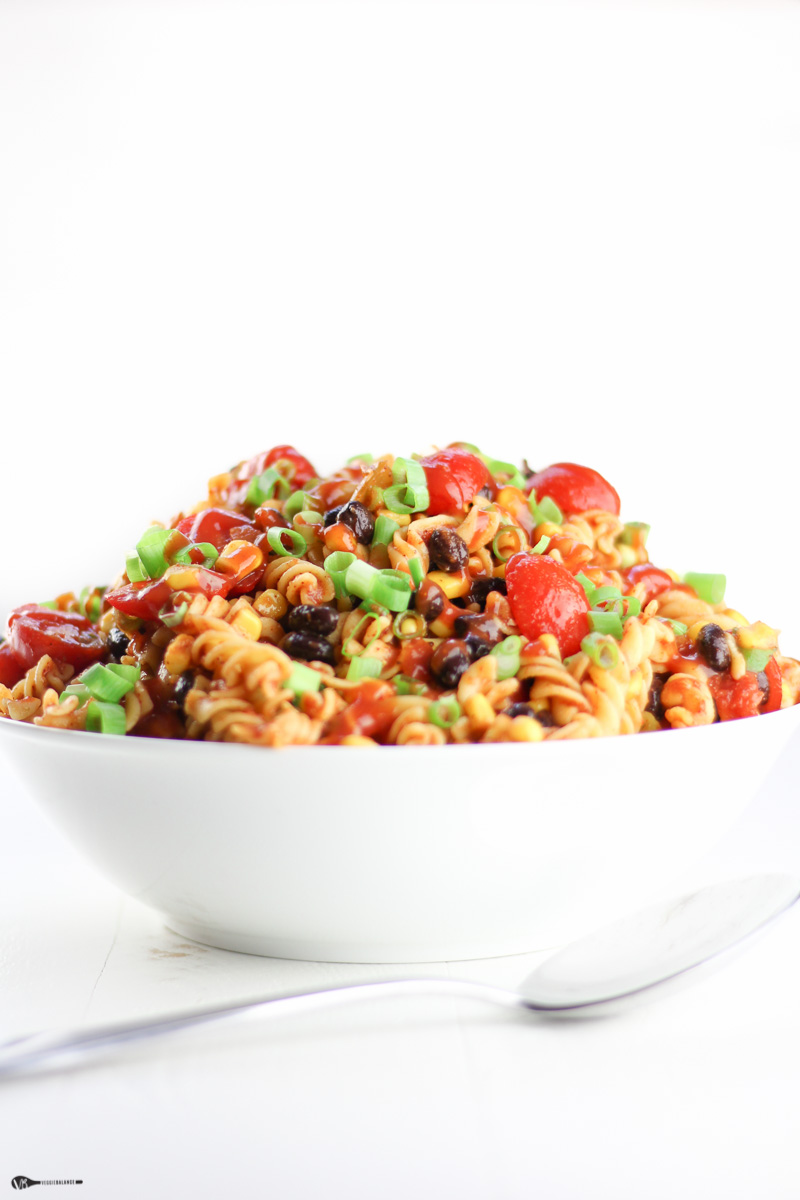Easy Cold Taco Pasta Salad Gluten Free Dairy Free Homemade Dressing