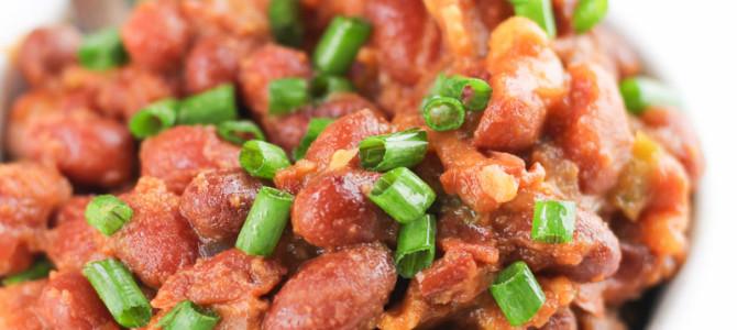 Crockpot Baked Beans Made Healthier