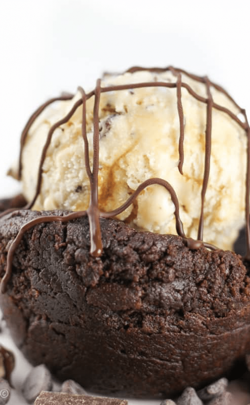 Brownie Bowls (Ice Cream Dessert Bowls)