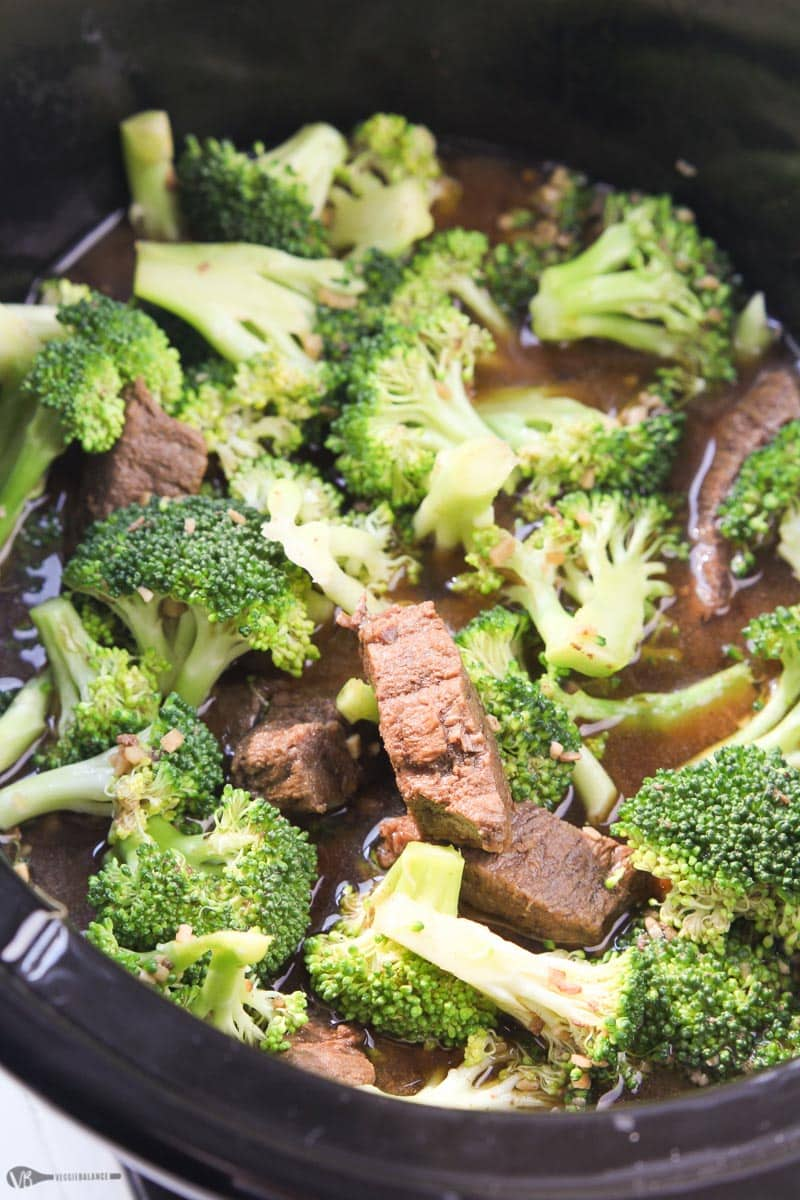 Crockpot Beef and Broccoli Recipe - Veggiebalance.com