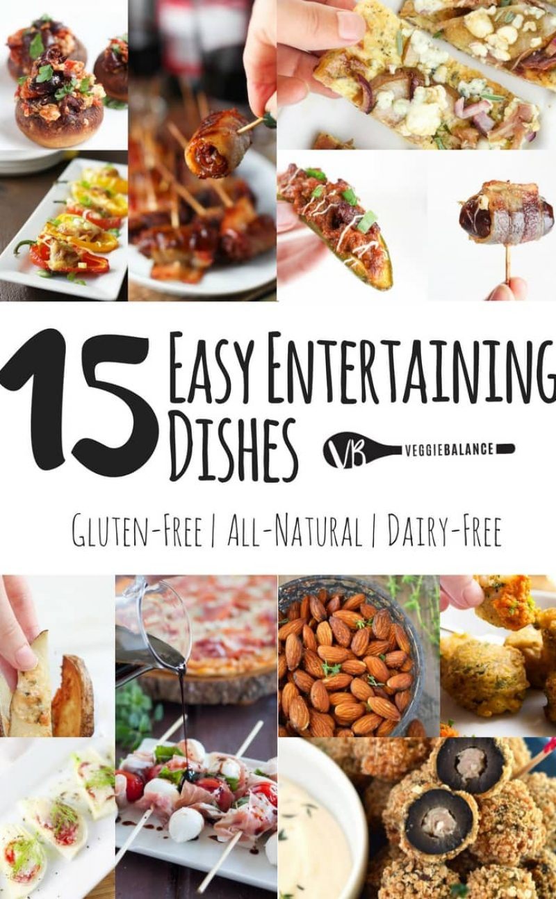 Top 15 Awesome Entertaining Dishes