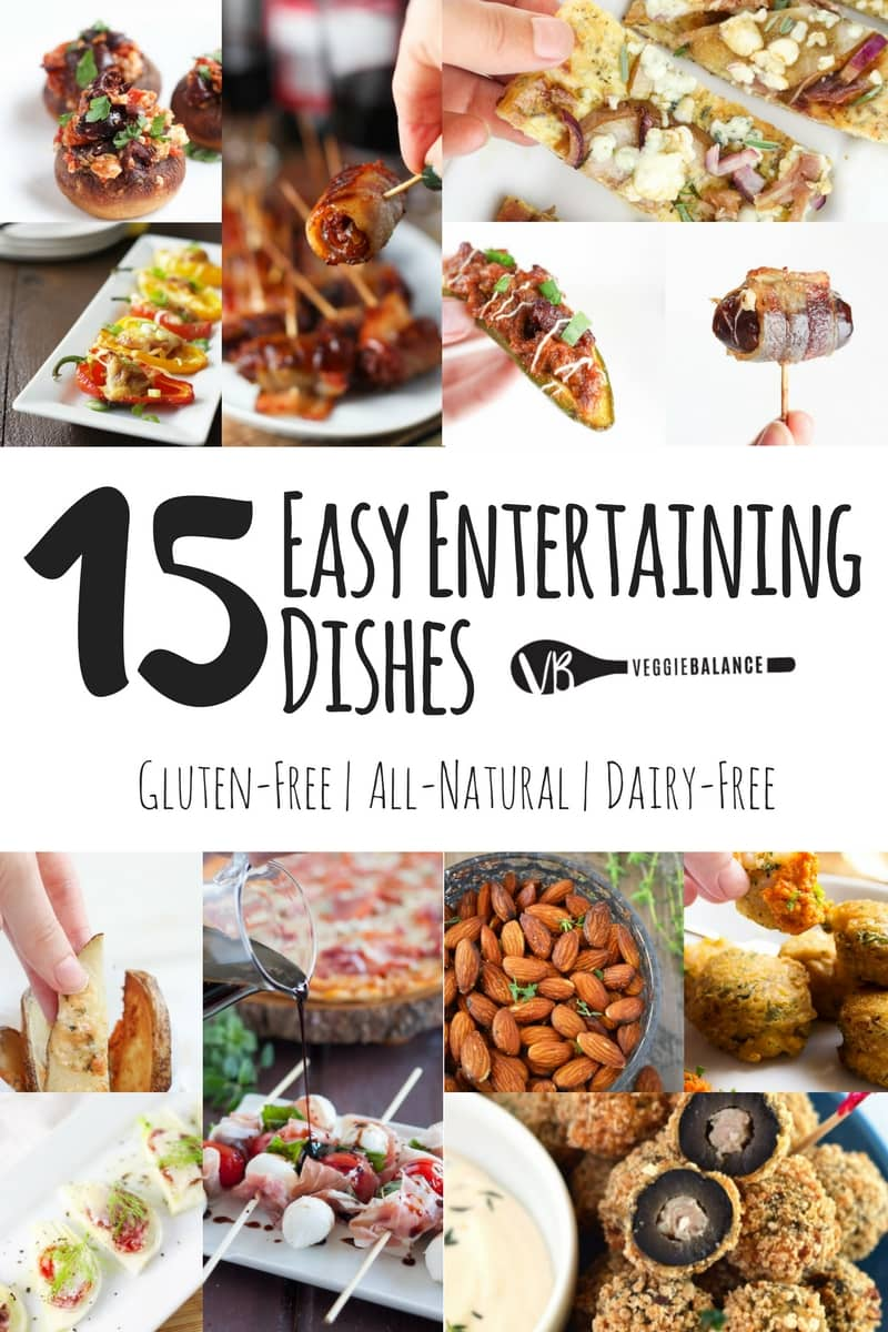Awesome Entertaining Dishes - Easy Weeknight Meals - Veggiebalance