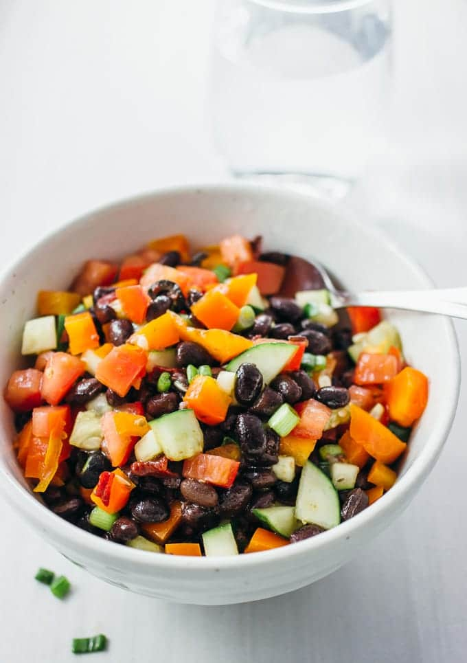 15 Easy Under 30 Minute Salads - Veggiebalance.com