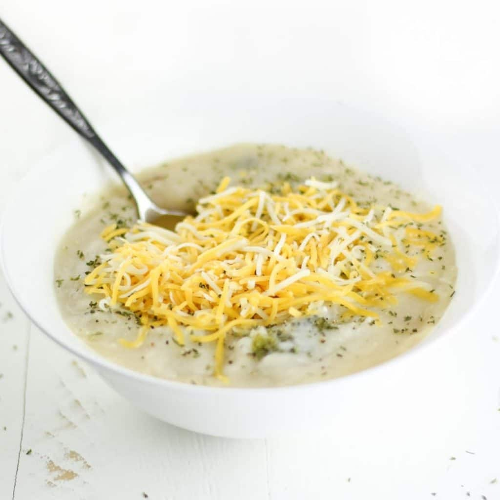 Dairy-Free Crockpot Broccoli Potato Soup