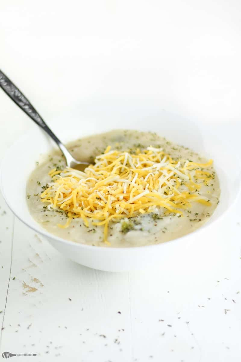 Dairy-Free Crockpot Broccoli Potato Soup Recipe Healthy Gluten-Free - Veggiebalance.com