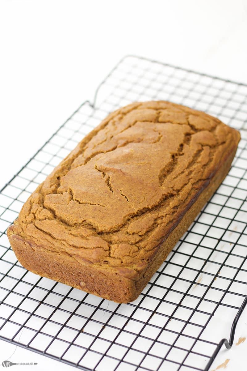 Gluten Free Pumpkin Bread recipe - Veggiebalance.com