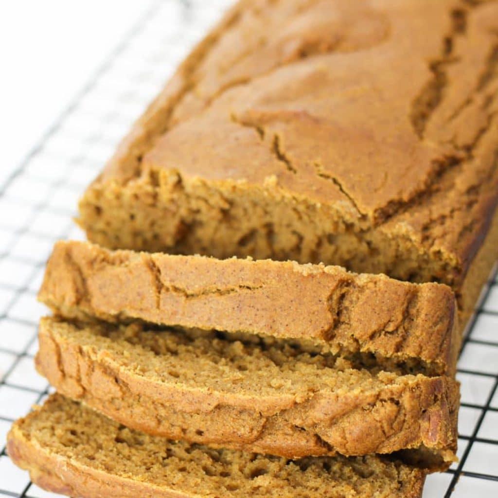 Gluten-Free Pumpkin Bread Recipe made Healthy