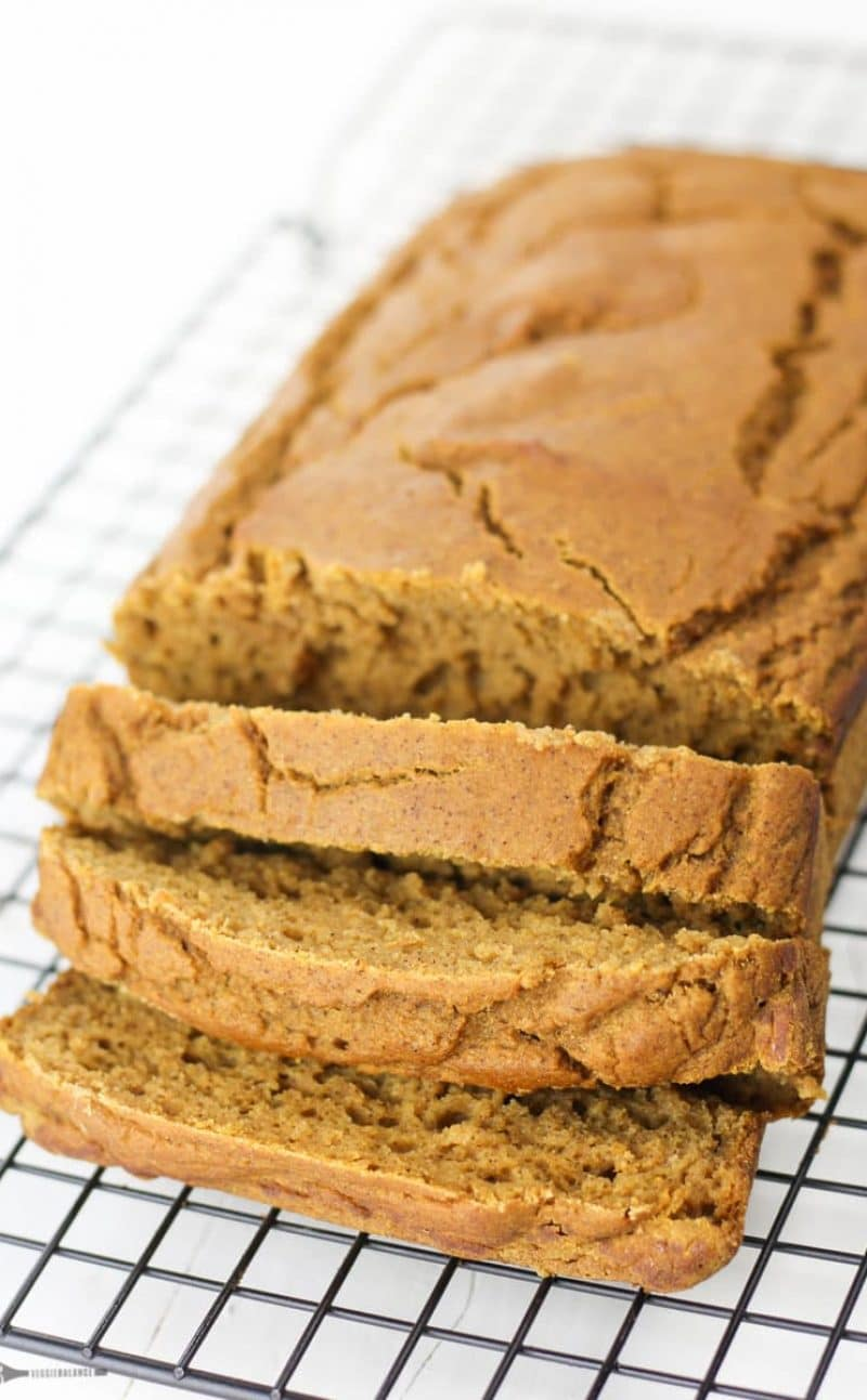 Gluten-Free Pumpkin Bread Recipe made Healthy