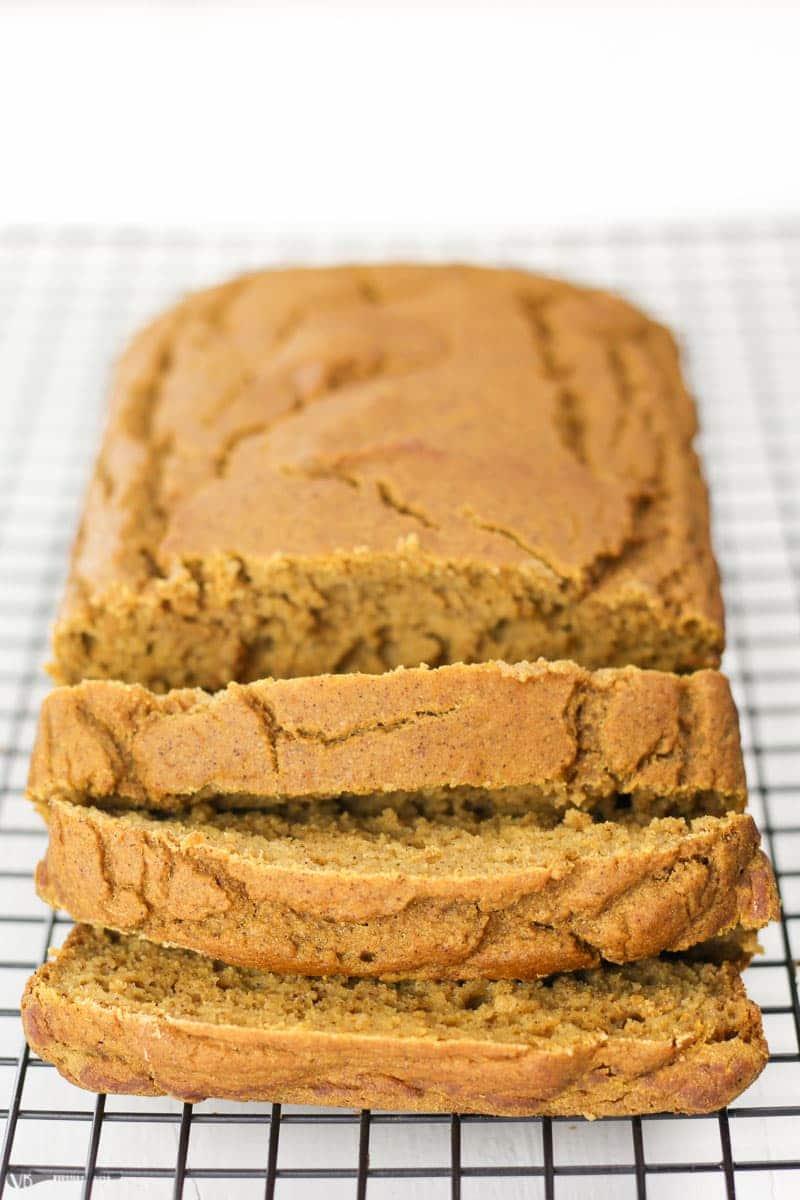 Gluten-Free Pumpkin Bread recipe - Veggiebalance.com