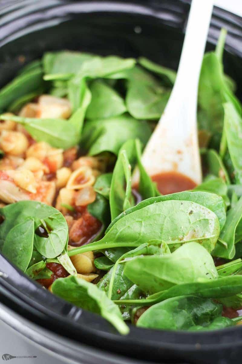 Spinach Artichoke Pasta recipe - Veggiebalance.com