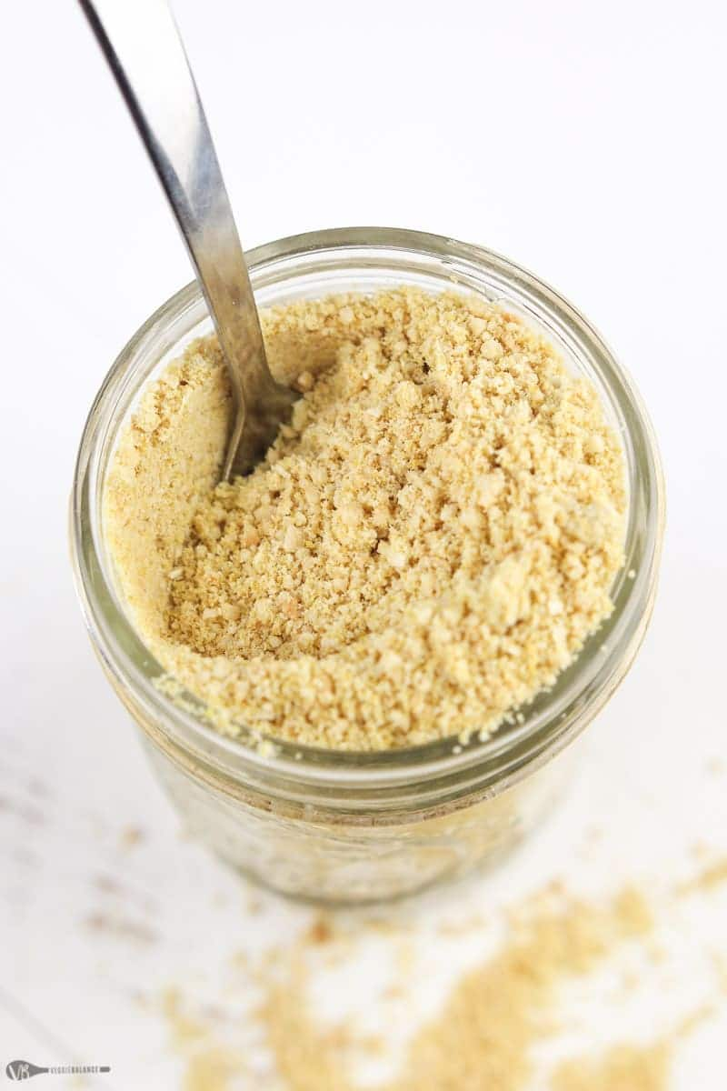 Vegan Parmesan Cheese recipe - Veggiebalance.com