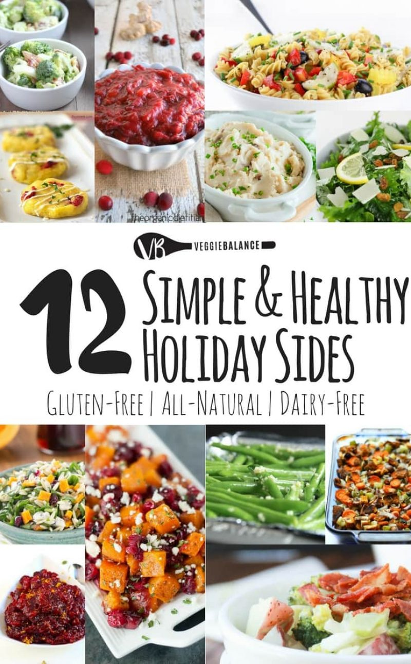 12 Easy Unique Holiday Side Dishes