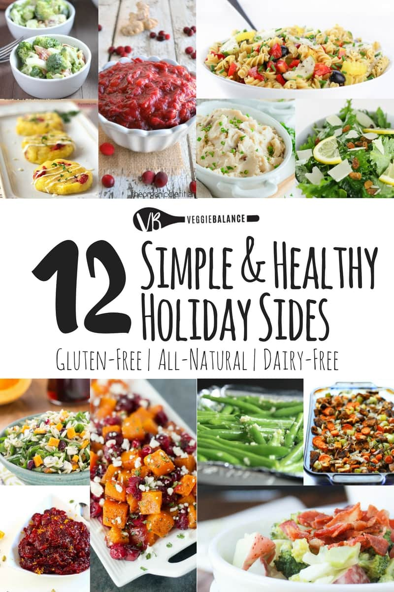 Unique Holiday Side Dishes Recipes Gluten-Free Dairy-Free Easy Recipes