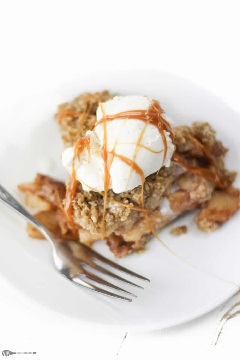 Gluten-Free Apple Crisp recipe - Veggiebalance.com