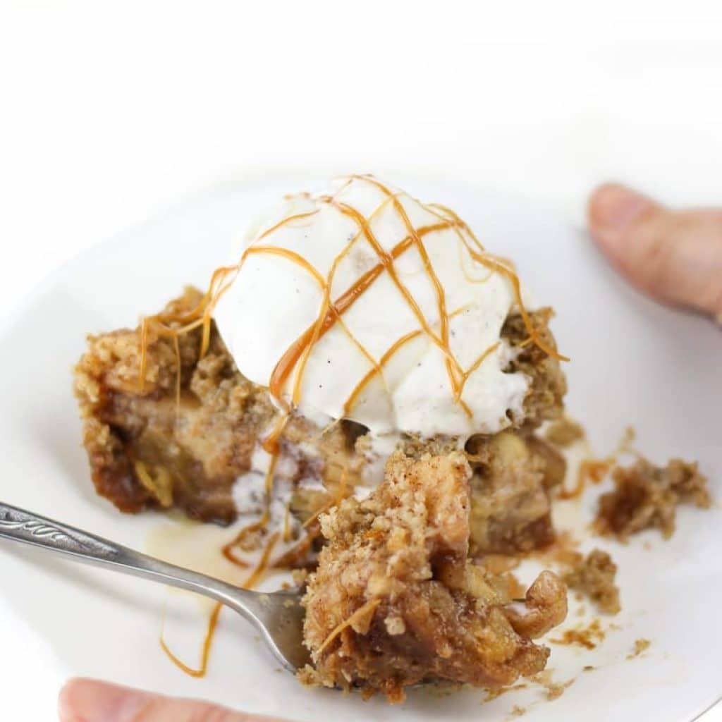 Gluten Free Apple Crisp (Vegan Apple Crisp Recipe)