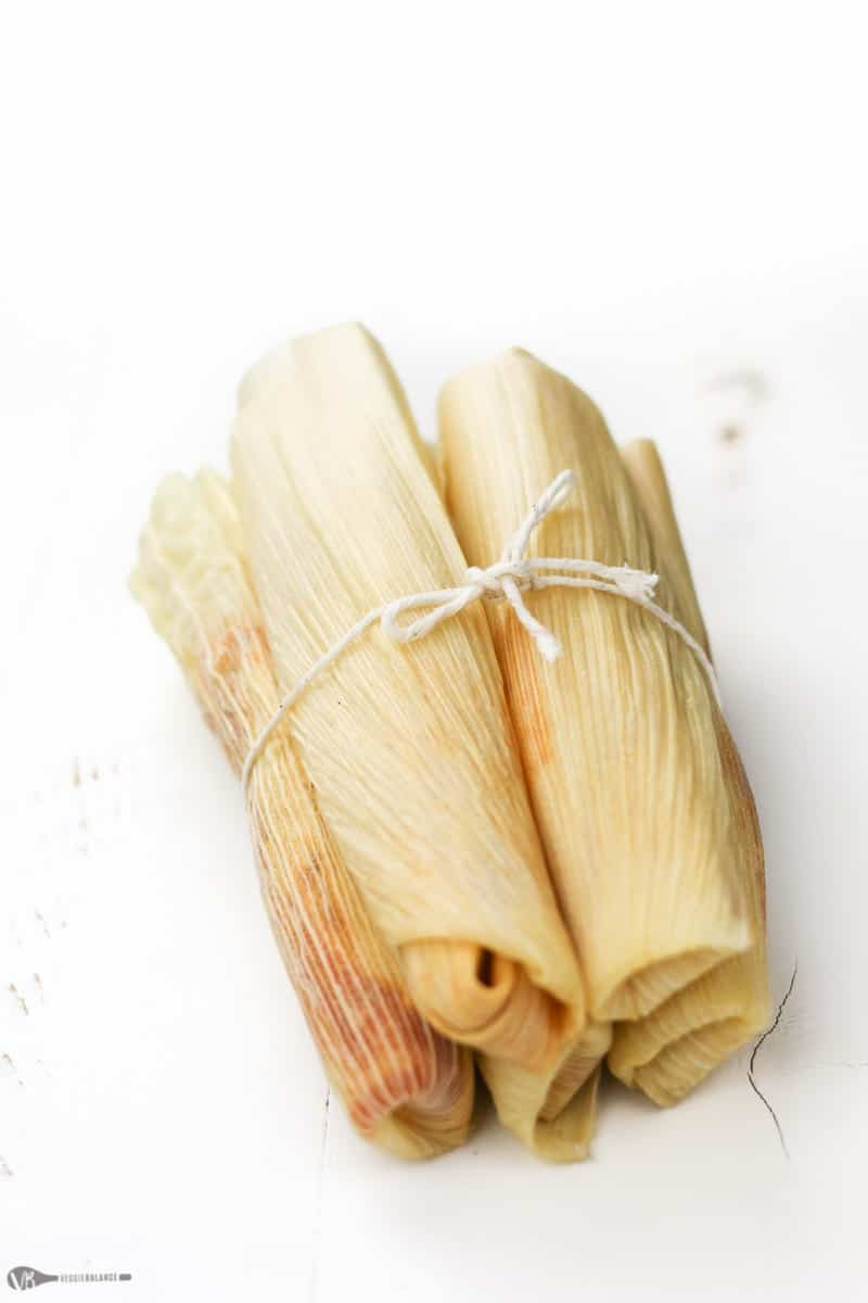 Easy Pork Tamales recipe - Veggiebalance.com