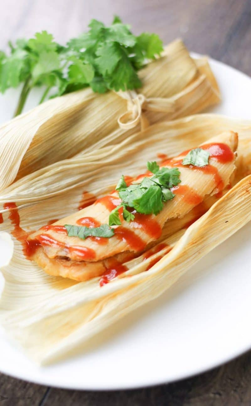 Easy Mexican Pork Tamales Recipe