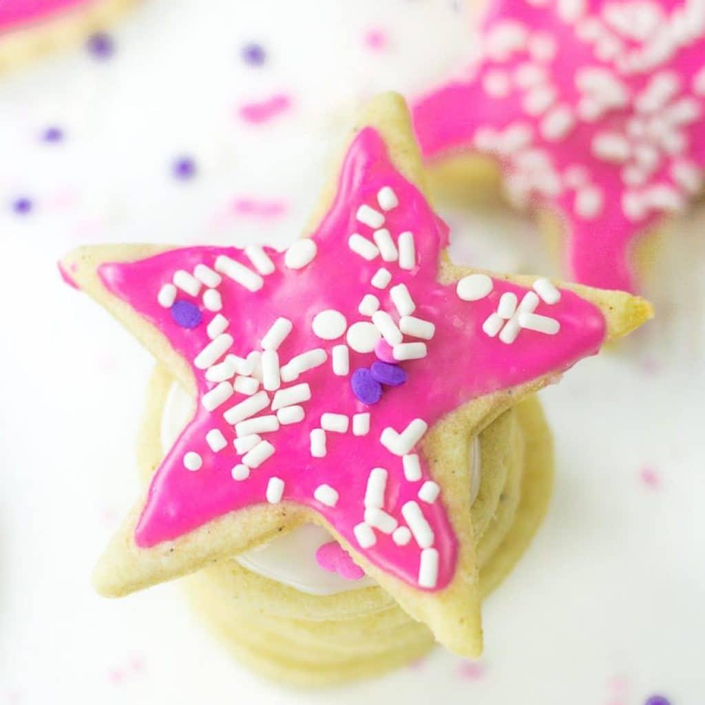 Cut Out Sugar Cookies (Gluten Free, Vegan)