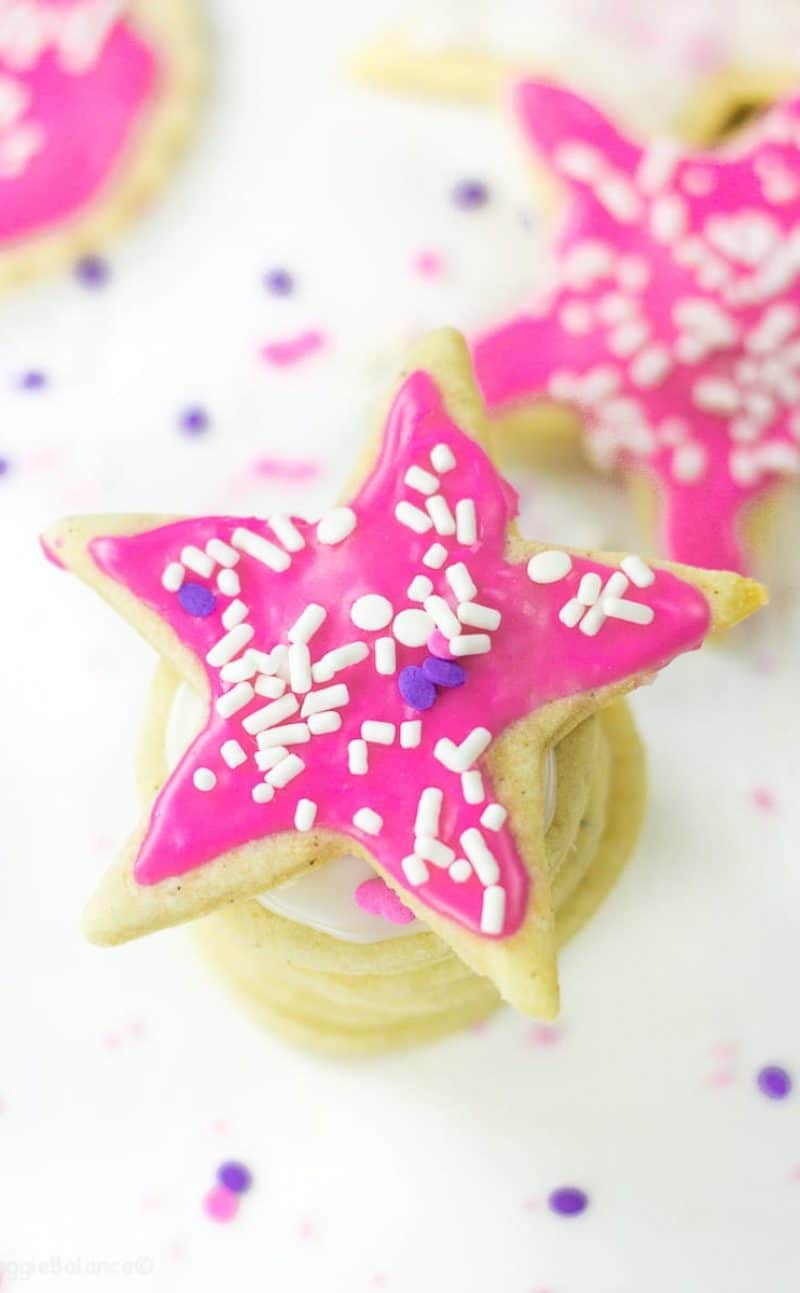 Cut Out Sugar Cookies (Gluten Free, Vegan)