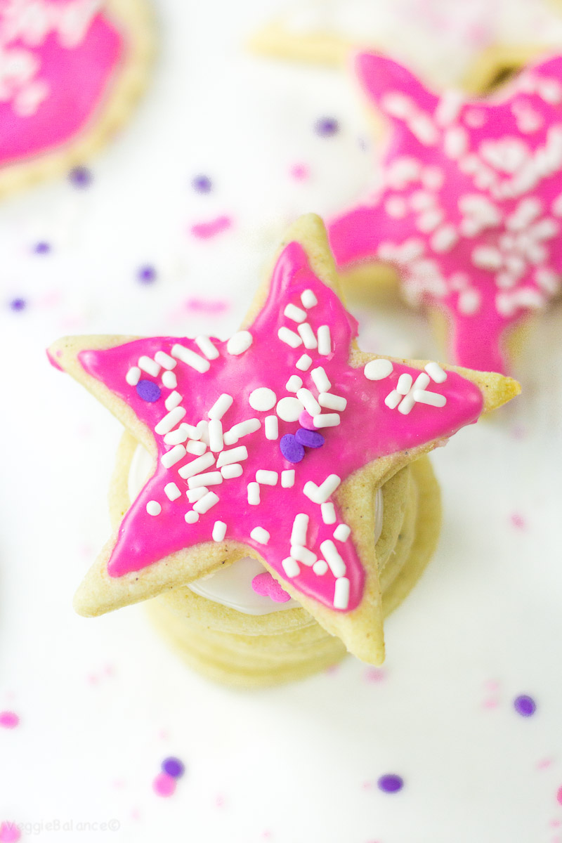 Easy dairy free sugar cookie recipe