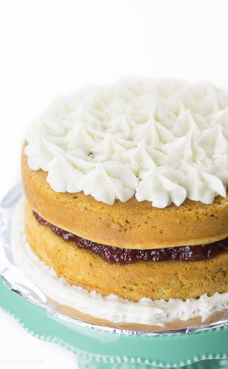 Perfectly Moist Gluten-Free Lemon Jelly Cake