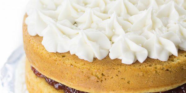 Perfectly Moist Gluten-Free Lemon Jelly Cake
