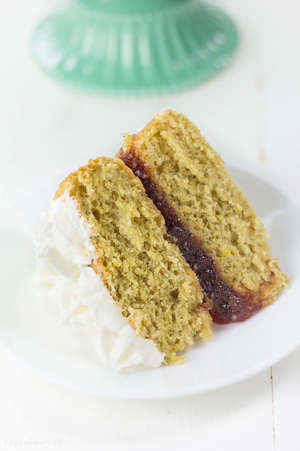Gluten-Free Lemon Jelly Cake recipe - Veggiebalance.com