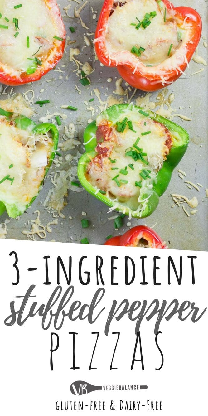 Bell Pepper Pizzas Recipe