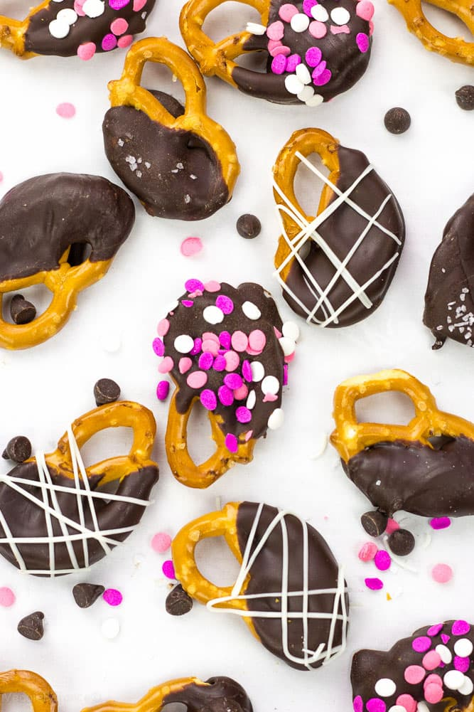 Chocolate Covered Pretzels - Veggiebalance.com