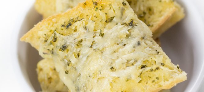 Homemade Garlic Bread (Gluten-Free)