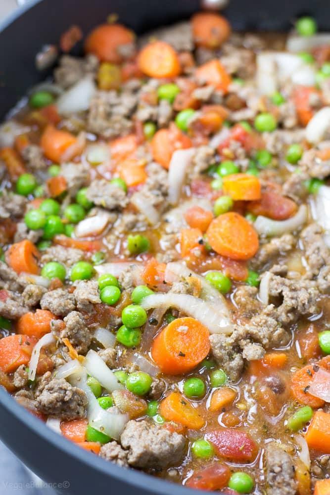 Easy Shepherd's Pie - Veggiebalance.com