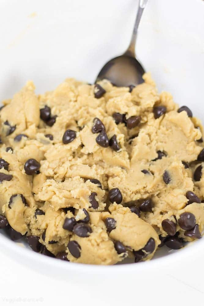 Healthy Cookie Dough - Veggiebalance.com