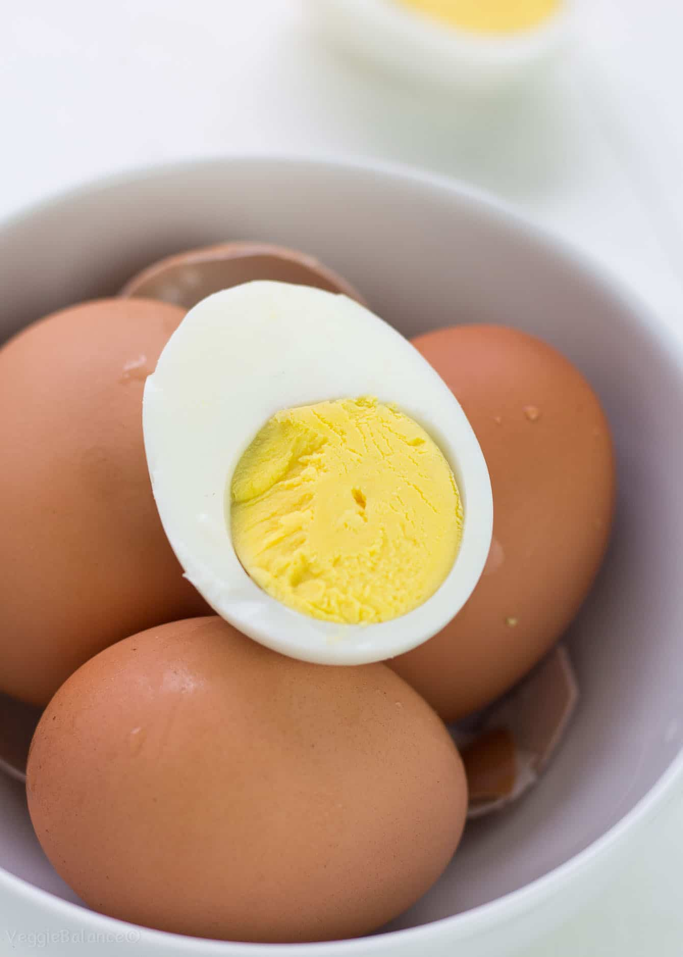 How to make hard boiled eggs peel easier
