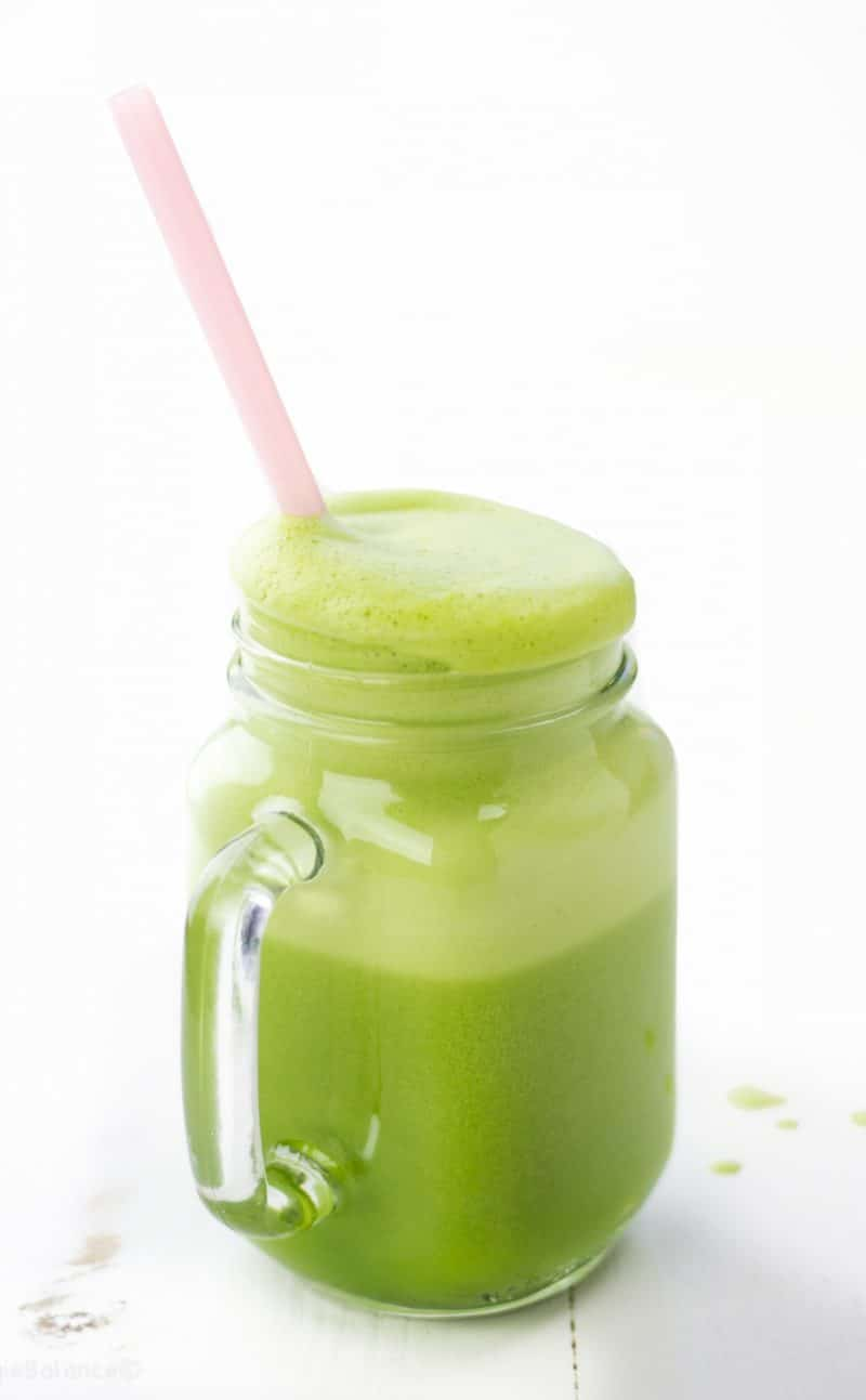 2 Ingredient Green Smoothie
