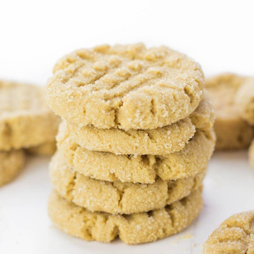 The Best Gluten Free Peanut Butter Cookies