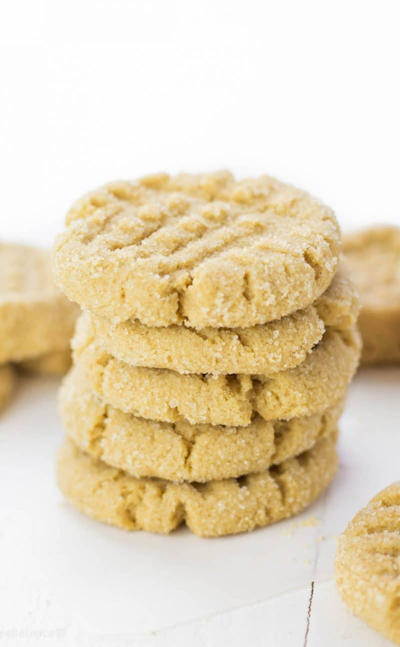 The Best Gluten Free Peanut Butter Cookies